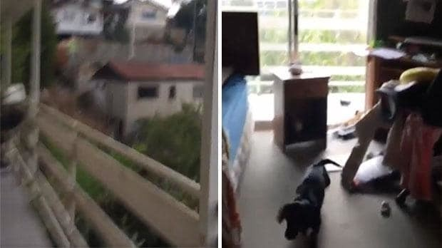 Watch: House shakes violently whilst struck by 6.5 earthquake in Chile