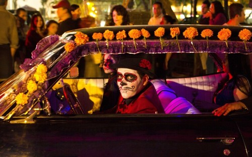Day of the Dead celebrations around the world, in pictures - Telegraph