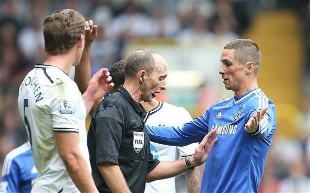 Jose Mourinho calls Tottenham defender Jan Vertonghen a cheat after Fernando Torres is sent off