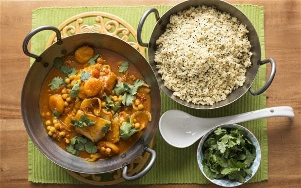 Speedy weeknight suppers: Moroccan fish tagine