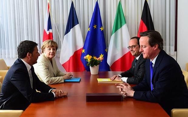 David Cameron to consider deploying British forces to Libya to 'smash' smuggling gangs