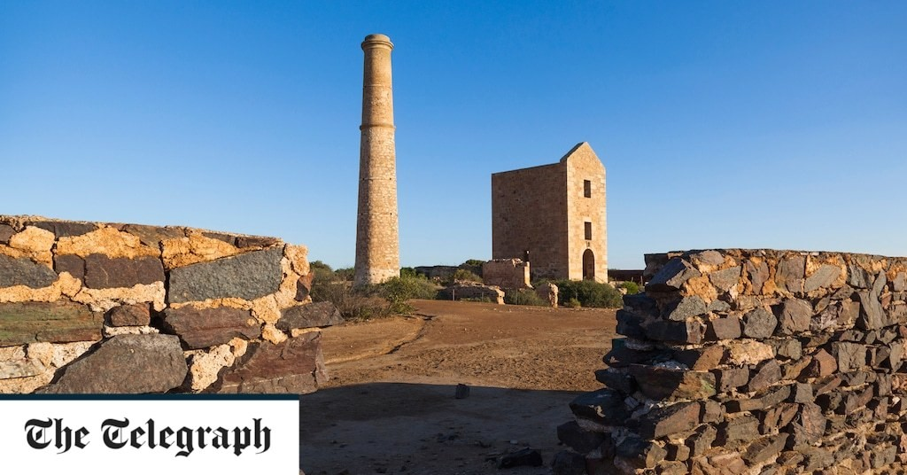 Ghost towns and copper mines in Australia's 'Little Cornwall'