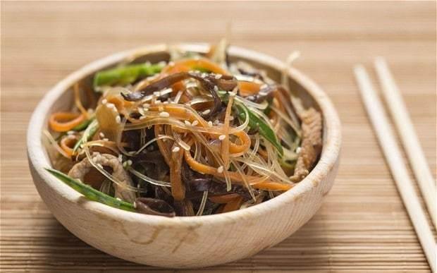 South Korean Japchae recipe
