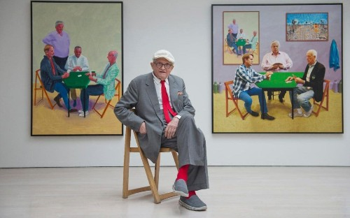 David Hockney interview: 'Your face belongs to other people'