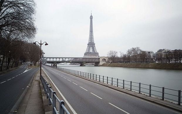 Central Paris to go car free for a day