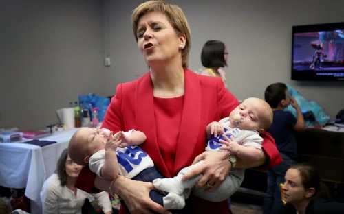 Nicola Sturgeon sets sights on at least another decade in power