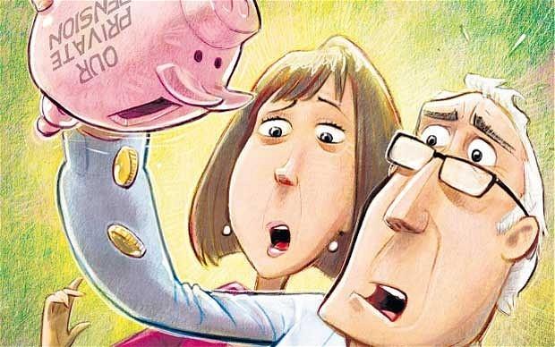 'I lost half of my pension'