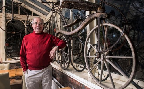 Is this Britain's oldest bike? 199-year-old bicycle found in disused barn
