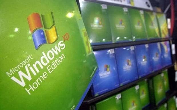 Windows XP putting businesses at risk