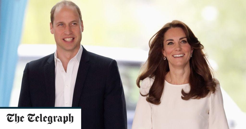Duke and Duchess of Cambridge to take Royal Train on tour of thanks