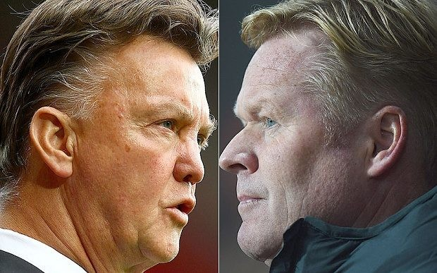 Southampton v Manchester United: Bitter Dutch feud between Louis van Gaal and Ronald Koeman still going