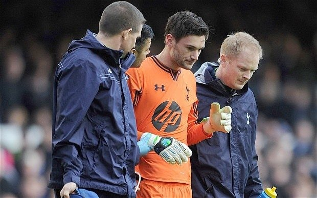 Concussion debate sparked by injury to Tottenham goalkeeper Hugo Lloris is raised in Parliament