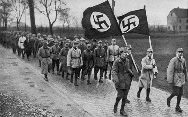 Nazis 'built underground nuclear weapons facility using slave labour'