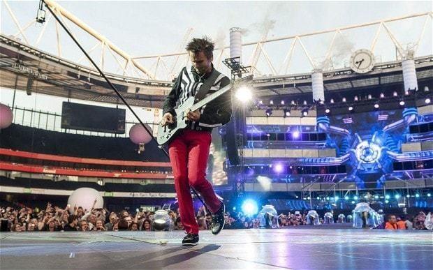 Muse, Emirates Stadium, review