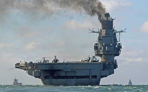 Russian warships arrive off Syrian coast ahead of 'final' assault on Aleppo