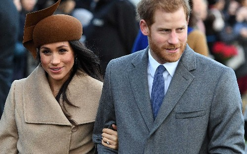 Meghan Markle joins the Royal Family at Christmas church service in Sandringham, in pictures