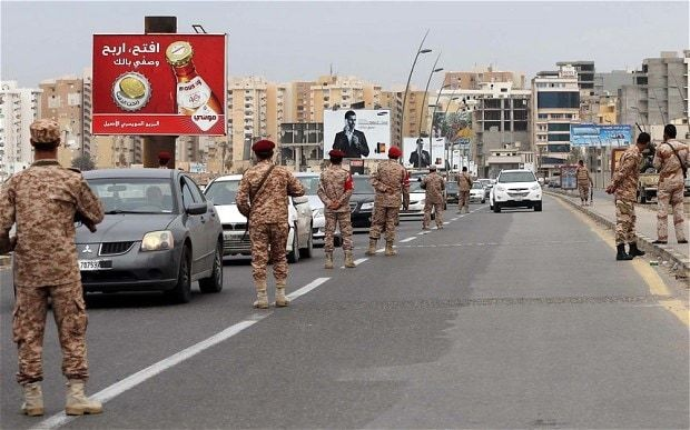 Four US military personnel detained in Libya