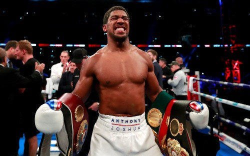 Anthony Joshua is a 'money greedy, privileged spoilt brat', says Jarrell Miller