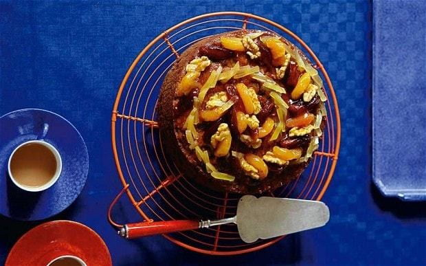 Apricot and ginger fruitcake recipe