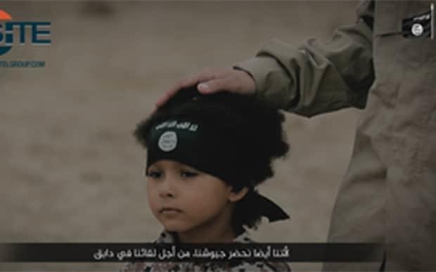Islamic State video shows British boy known as 'Junior Jihadi' blowing up three prisoners
