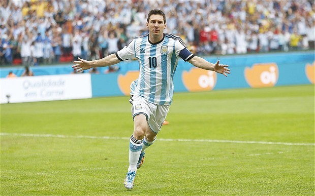 World Cup 2014: Lionel Messi scores a stunning double to help Argentina survive Nigeria scare and top group
