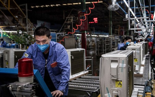 Supermarket sales surged 43pc in week coronavirus panic took hold