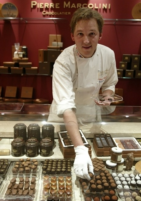 Master chocolatier Pierre Marcolini opens his first shop in London