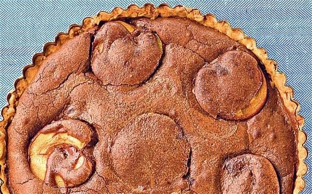Chocolate and apricot tart recipe