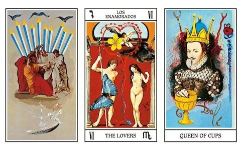 How Dali rewrote art history as a deck of tarot cards