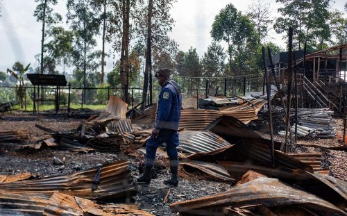Ebola treatment centres in DRC set ablaze as second-worst outbreak infects 1,000