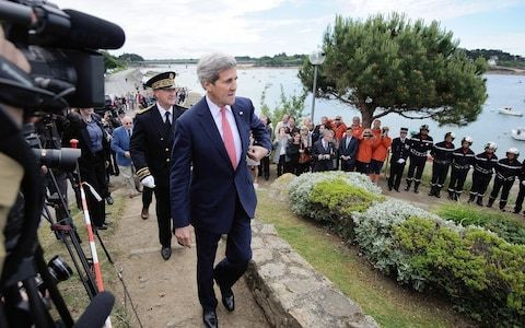 Hiking trail through land owned by John Kerry's family opens in northern France following bitter legal dispute