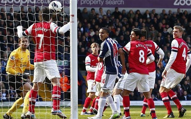 West Brom v Arsenal, Norwich v Swansea and Stoke City v Aston Villa - Premier League clockwatch: live