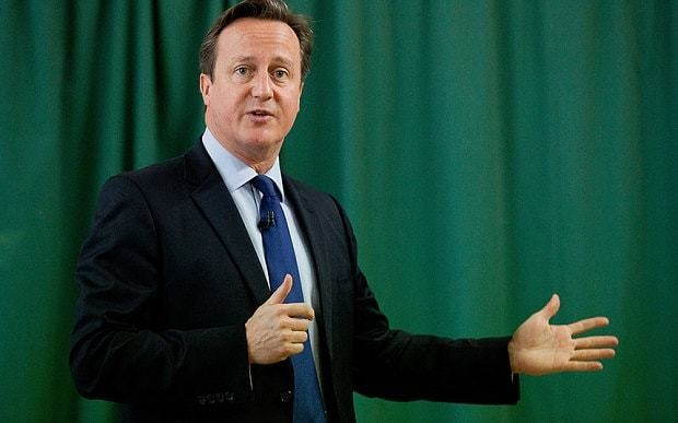 David Cameron: An election to make or break Britain
