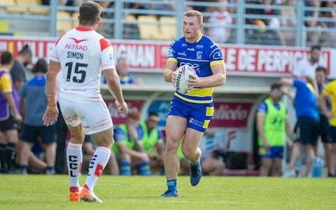 Warrington's Jack Hughes relives ruptured testicle injury agony as Challenge Cup final looms
