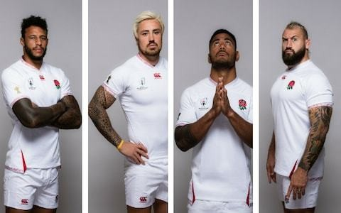 England stars will bare tattoos during World Cup despite body art's link to Japanese mafia gangs