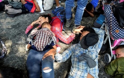 Dismay as $500m foreign aid to Central America threatened by US in retaliation to latest migrant caravan