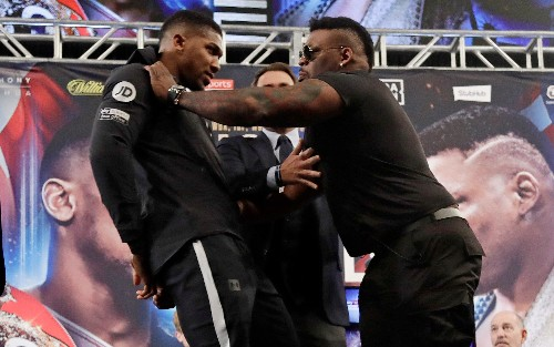 Anthony Joshua begins stage two of 'global domination' plan