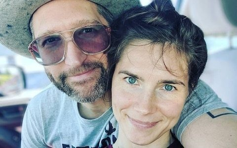 Amanda Knox asks for donations for her wedding - but she is already married