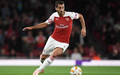 Henrikh Mkhitaryan misses Arsenal's Europa League tie with Qarabag due to political tensions