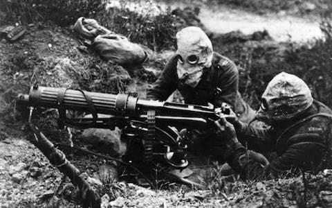 First World War mustard gas leaks from Belgian underwater grave