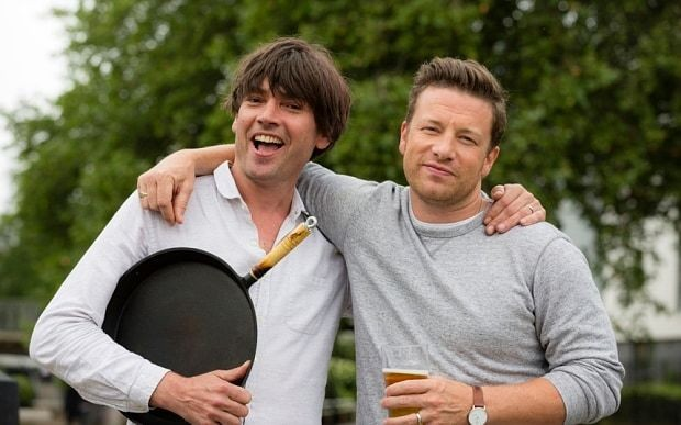 Jamie Oliver and Alex James: our food and music extravaganza