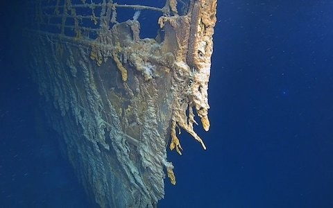 First Titanic expedition in 14 years reveals ship could be lost forever as divers discover key parts have been washed away