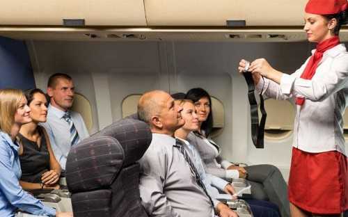 Will wearing a seatbelt on a plane save your life?
