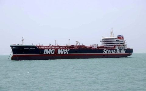 Iran 'ready to release' British-flagged tanker