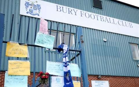 'The fans have got to chip in': Bury owner Steve Dale says supporters must help save club from extinction