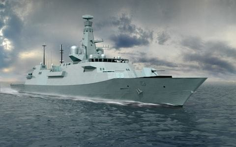 Britain's naval industry pins hopes on Type 26 'global' warship