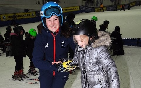 Schoolchildren encouraged to take up skiing to help their wellbeing as part of national campaign