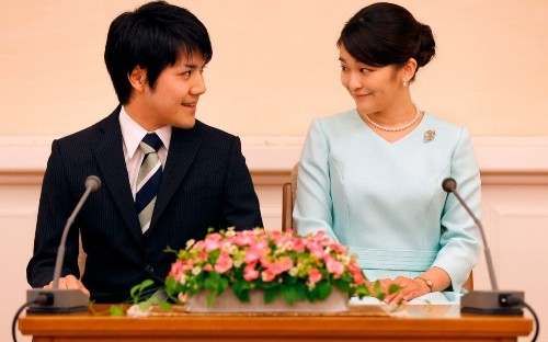 Japanese princess' wedding back on as fiance solves family financial dispute