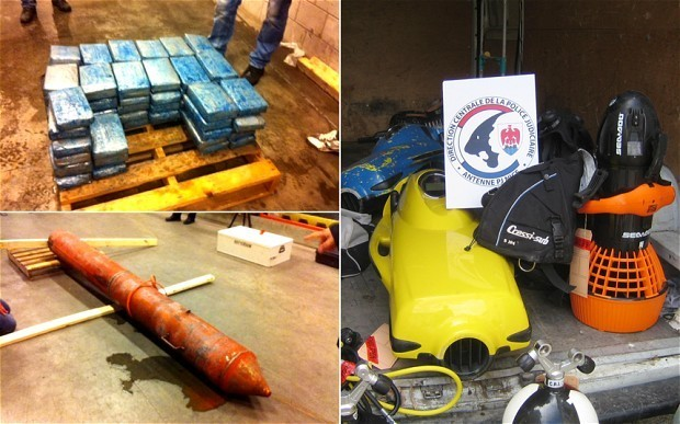 'Narco-torpedoes' and frogmen: drug smuggling ring busted in Rotterdam