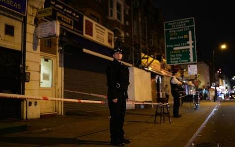 Teenager stabbed to death in central London